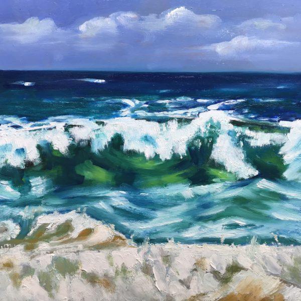 Malen einer Welle