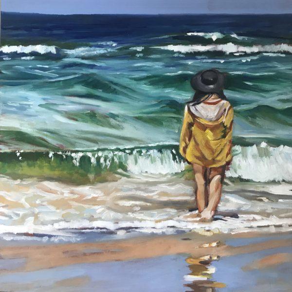 Mädchen am Meer – mit Anleitung