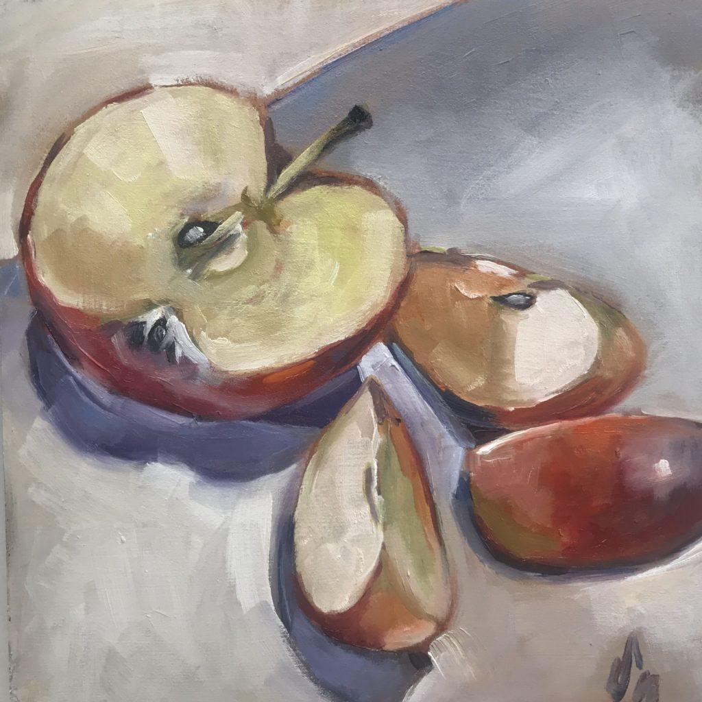 Apfelstückchen